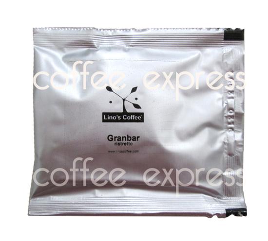 Picture of פודים קפה אספרסו לינוס גרנבר - Lino's Coffee ESE Pods Grandbar Ristretto