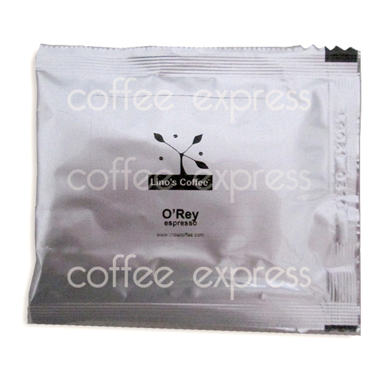 Picture of פודים קפה אספרסו לינוס אוריי - Lino's Coffee ESE Pods O'Rey Espresso