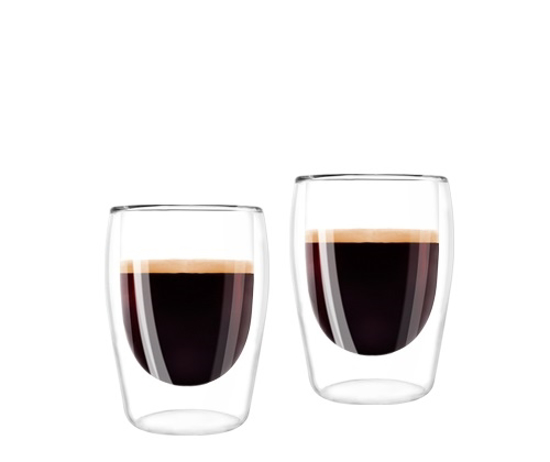 Picture of מליטה כוסות קפה זכוכית כפולה - Melitta Double Glass Espresso