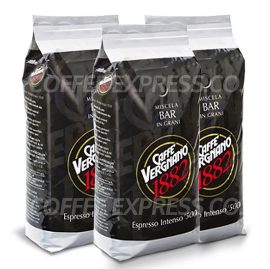 """Picture of קפה Vergnano אינטנסו 500 פולים - 3 ק""""ג"""