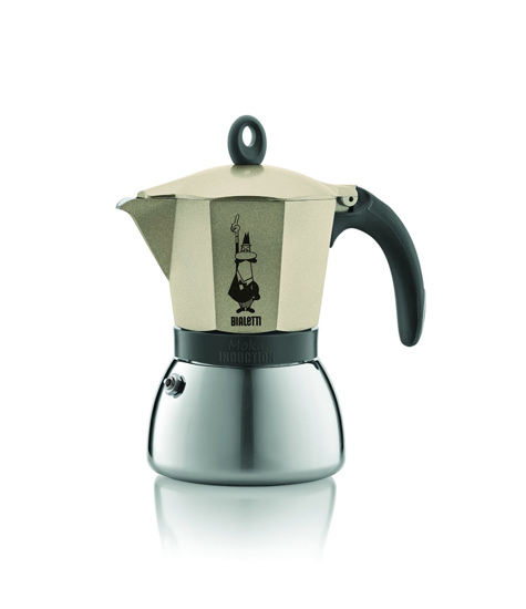 Picture of Bialetti Moka Induction מקינטה - 6 כוסות זהב