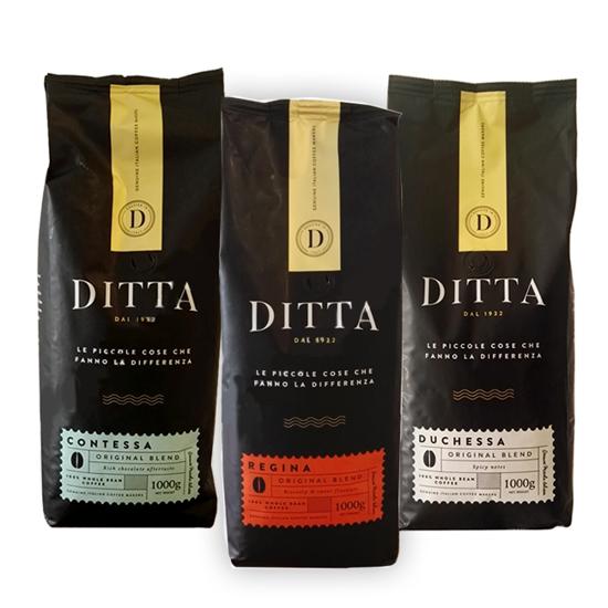 Picture of Ditta קפה מארז טעימות 3 תערובות פולי קפה