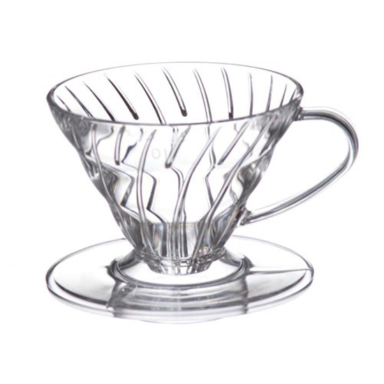 Picture of Hario V60 קונוס פילטר פלסטיק - 01